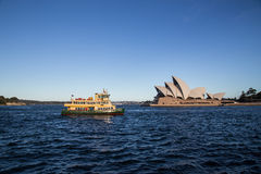 Transbordadores de Sydney Imagen de archivo