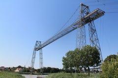 Transbordeur de Rochefort (Francia) de Pont imagen de archivo