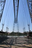 Transbordeur de Rochefort (Francia) de Pont foto de archivo