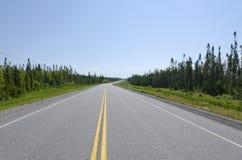 TransCanada highway Stock Image