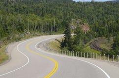 TransCanada highway Royalty Free Stock Photo