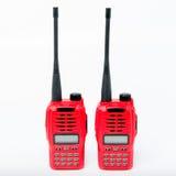 Transceiver des portablen Radios Stockbilder