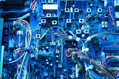 Transceiver electronic Board Royalty Free Stock Images