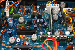 Transceiver electronic Board Stock Images