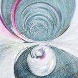 Transcendência espiral 1 Fotografia de Stock