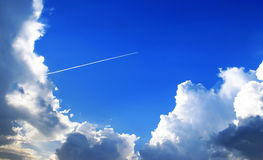 transcendentalt flyg Royaltyfri Foto