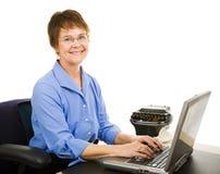 Transcriptionist legale immagine stock libera da diritti