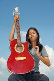 Transe et méditation musicales Image libre de droits