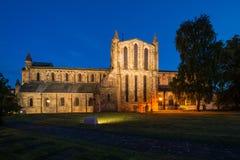 Transepto del norte en la noche Foto de archivo