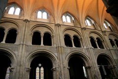Transeptos, igreja do convento, Christchurch Fotos de Stock
