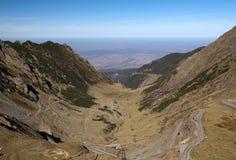 Transfagaras mountain road Royalty Free Stock Image