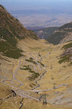 Transfagaras mountain road Stock Photo