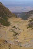 Transfagaras mountain road Stock Photo