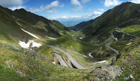 Transfagaras road Royalty Free Stock Image