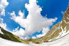 Transfagarasan, Румыния Горы Fagaras Кабина озера Balea Ar Стоковое Изображение RF