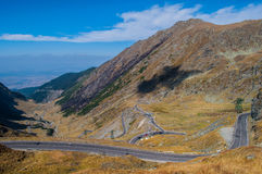 Transfagarasan Photo stock