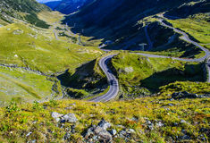 Transfagarasan alpine road Royalty Free Stock Images