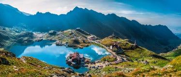 Transfagarasan Balea湖 免版税库存图片
