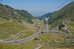 Transfagarasan, best road in the world. (Top Gear Stock Photo