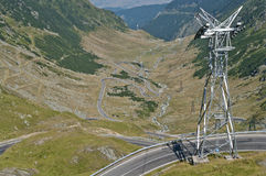Transfagarasan, best road in the world Royalty Free Stock Images