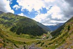 Transfagarasan droga, Rumuńscy Carpathians Obraz Royalty Free