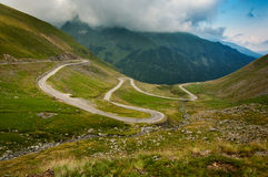 transfagarasan drogowy Romania fotografia royalty free