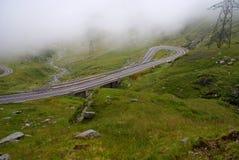 transfagarasan drogowy Romania Obraz Royalty Free