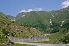 transfagarasan drogowy Romania Zdjęcie Royalty Free
