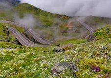 Transfagarasan, famous road in Romania Stock Images