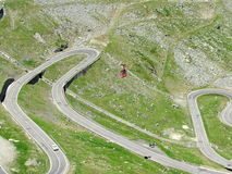 Transfagarasan. The fantastic Transfagarsan road in Romania Royalty Free Stock Images
