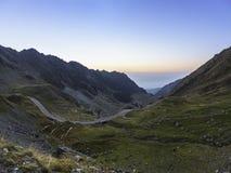 Transfagarasan góry droga Obraz Royalty Free