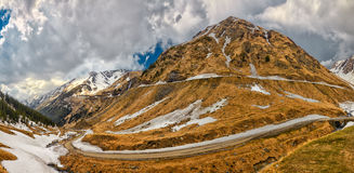 Transfagarasan Highway Stock Photography