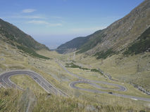 Transfagarasan highway Royalty Free Stock Photos