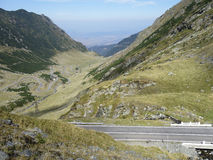 Transfagarasan highway Royalty Free Stock Photography