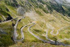 Transfagarasan highway, the most beautiful road in Europe, Romania Transfagarashan Royalty Free Stock Images