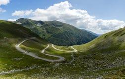 Transfagarasan Highway. In Romania Royalty Free Stock Image