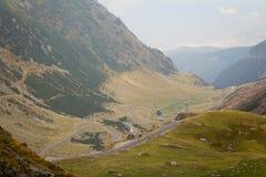 Transfagarasan highway in Romania Royalty Free Stock Photos