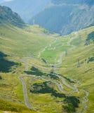 Transfagarasan highway in Romania Royalty Free Stock Photography