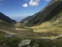 The Transfagarasan Highway,Romania royalty free stock images