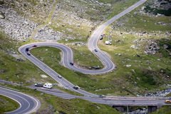 Transfagarasan highway, Romania Royalty Free Stock Photo