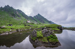 Transfagarasan highway in Romania Royalty Free Stock Photography