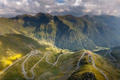 Transfagarasan highway in Romania Stock Image