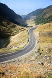Transfagarasan Highway. Mountain road in Fagaras Mountains, Romania Stock Photography