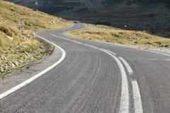 Transfagarasan Highway. Mountain road in Fagaras Mountains, Romania Royalty Free Stock Images