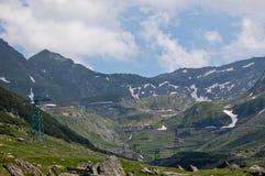 Transfagarasan krajobraz zdjęcia stock