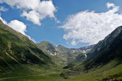 Transfagarasan krajobraz fotografia stock