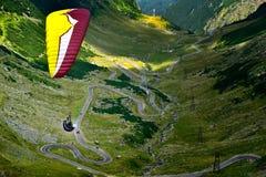 Transfagarasan, la strada più famosa in Romania nell'ora legale fotografie stock libere da diritti