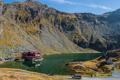 Transfagarasan - lac Balea Photo stock
