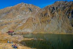 Transfagarasan - lac Balea Images libres de droits
