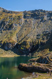 Transfagarasan - lac Balea Photos stock